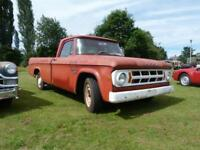 Dodge D200 DW Series Single Cab Pick Up Truck