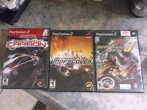 Playstation 2 with steering and 22 games for sale Gatineau Ottawa / Gatineau Area image 6