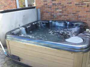 Coleman Hot Tub model 471 spa