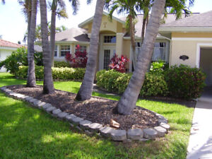Cape Coral waterfront home for rent