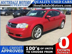 2011 DODGE AVENGER MAINSTREET * PREMIUM CLOTH SEATING * LOW KM