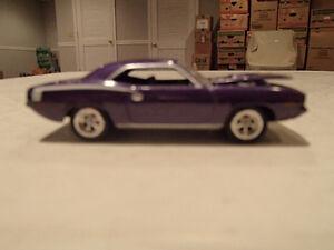 Loose In-Violet Purple 1970 '70 PLYMOUTH HEMI BARRACUDA 426/425