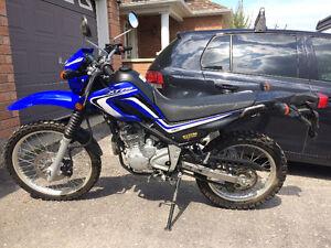 Dual purpose Yamaha XT 250 for sale