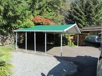 Carport for Home... Work and Playtime ...