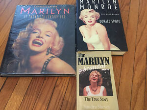 Selection of Marilyn Monroe books Peterborough Peterborough Area image 1