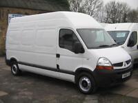 2008 RENAULT MASTER LH35dCi 120 LWB Extra High Roof Diesel Van
