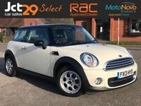 2013 MINI HATCH COOPER 1.6 COOPER D + ONE OWNER FROM NEW + FREE ROAD TAX