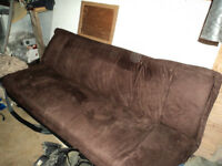 Chocolate Brown Futon