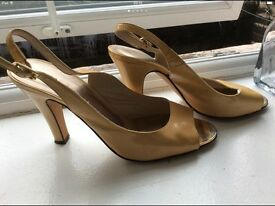 REISS occasion leather shoes - sandals size 40EUR - 7UK