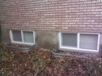 BASEMENT WINDOWS REPLACED, FAST ECONOMICAL