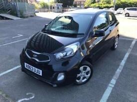 2013 (63) KIA Picanto 1.0 3dr black 0F Former Keepers 6 Months Warranty Included