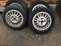 Audi VW Wheels. 14inch retro style alloy wheels