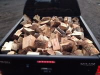 Barn stored dry fire wood logs free local delivery