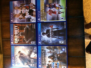 Selling PS4 Games London Ontario image 1