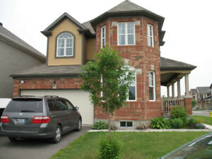 Beautiful double car garage single home in Orleans for rent