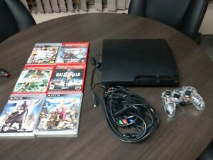 Sony PS3 with 6 games