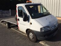 RECOVERY TRUCK CITROEN RELAY 2.2HDI EXCELLENT ON FUEL, NEW TURBO, FUEL PUMP, TIMING BELT.