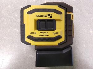 Stabila Green Plumb & Cross Line Laser