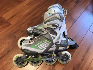Patins Rollerblade 90mm W8 39 comme neufs
