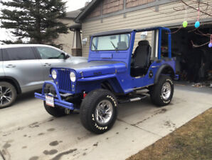 1946  Modified Willy's Jeep