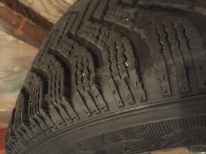 225/65/R16 Goodyear Nordic Winter rims and tires. St. John's Newfoundland image 2