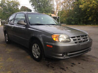 2003 Hyundai Accent Echo Bas millage !!!!!