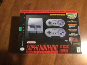 SNES - New in box (never opened)
