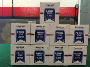Premium Guard Oil Filters PG2222