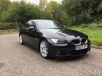 BMW 320d m sport sat nav red leather