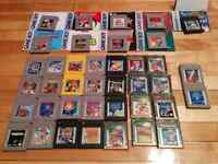 Jeux game boy / color, zelda pokemon mario donkey kong wario