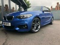 2014 BMW 2 Series 2.0 218d M Sport (s/s) 2dr Coupe Diesel Manual