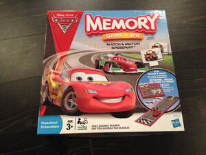 Jeu de mémoire Cars 2/Cars 2 memory game