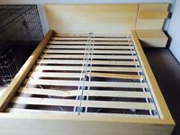 Ikea Queen Size Bed Frame 6 months old (Good Condition)