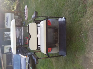 Golf cart parts and accessories, rear seats, lights, lifts