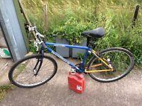 Bike in Tarbrax
