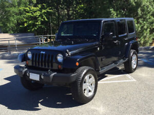 """2008 Jeep Wrangler Unlimited Sahara with 3"""" lift and more."""