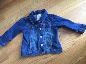 GUC Old Navy cute jean jacket 18-24 mths