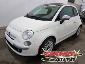 Fiat 500c Convertible Lounge Cuir MAGS 2015