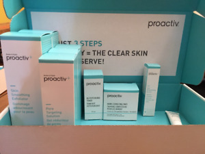 Lots of Proactiv products