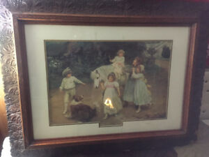 Old picture signed. By. Arthur j Lesley. 1903