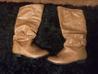 2 pairs of boots