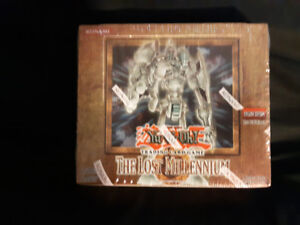 Sealed Unopened Yu Gi Oh 1st Edition The Lost Millennium Box!