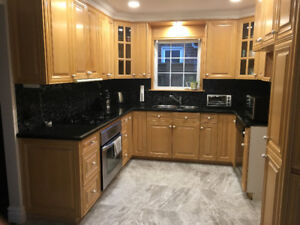 Doors for kitchen cabinets