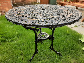 Cast Iron Table