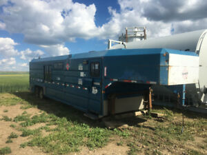 2001 Norbert enclosed jobsite trailer