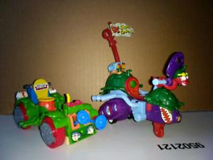 1990s Teenage Mutant Ninja Turtles Vehicles