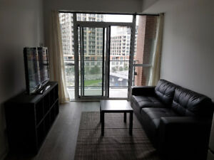 1 Bedroom + Den with 10FT ceilings! in Liberty Village