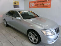 "2007 Mercedes-Benz S320 3.0TD 7G-Tronic 19"" AMG ALLOYS *BUY FOR ONLY £40 A WEEK*"