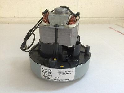 Ametek Lamb Central Vacuum Replacement Motor 122141-00 240 V Nos No Warranty