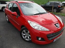 2011 PEUGEOT 207 HDI SW ACTIVE ESTATE DIESEL ESTATE DIESEL